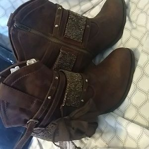 Brown Ankle Boots with '3.5 heel
